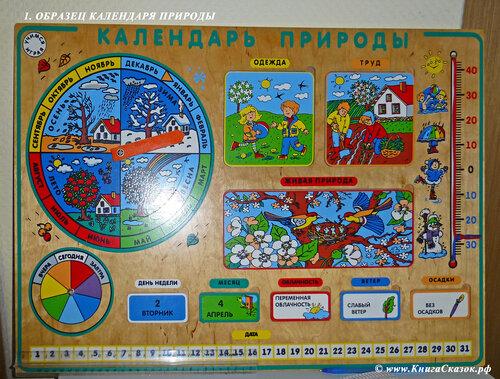 Картинки календарь природы для детского сада