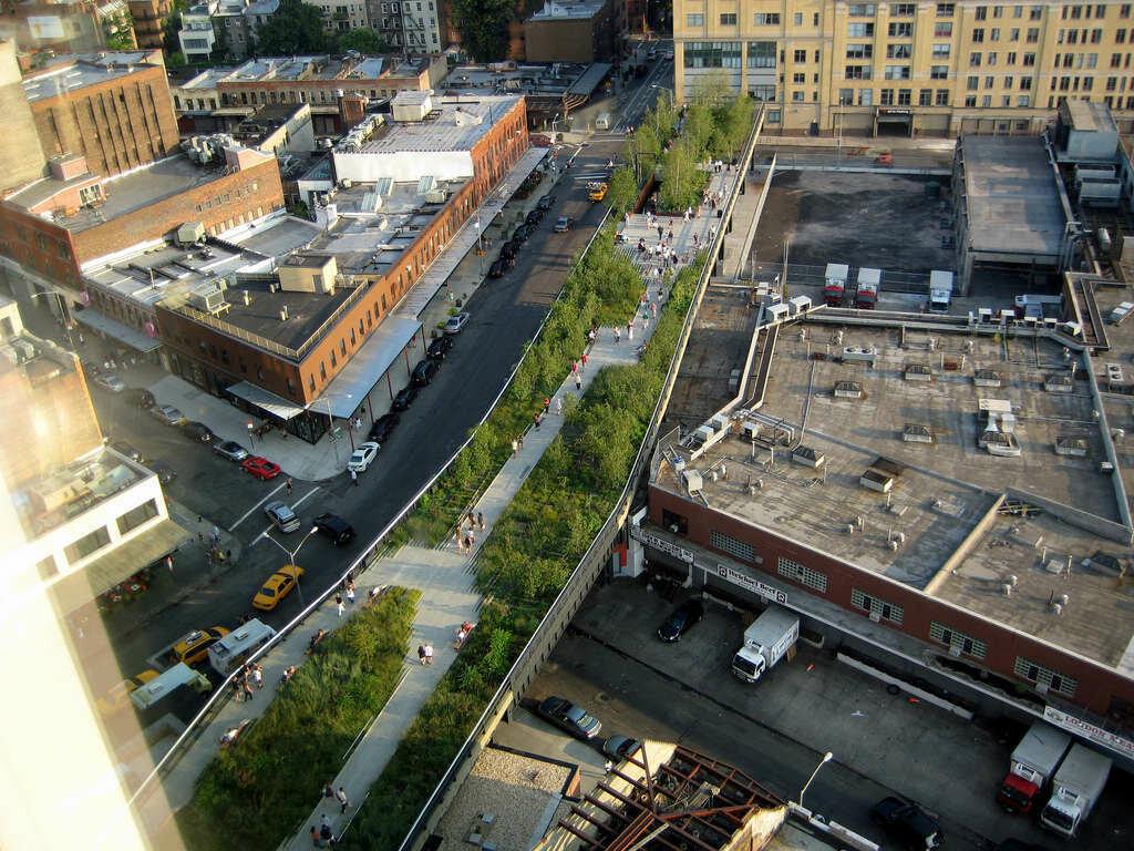 парк отдыха High Line