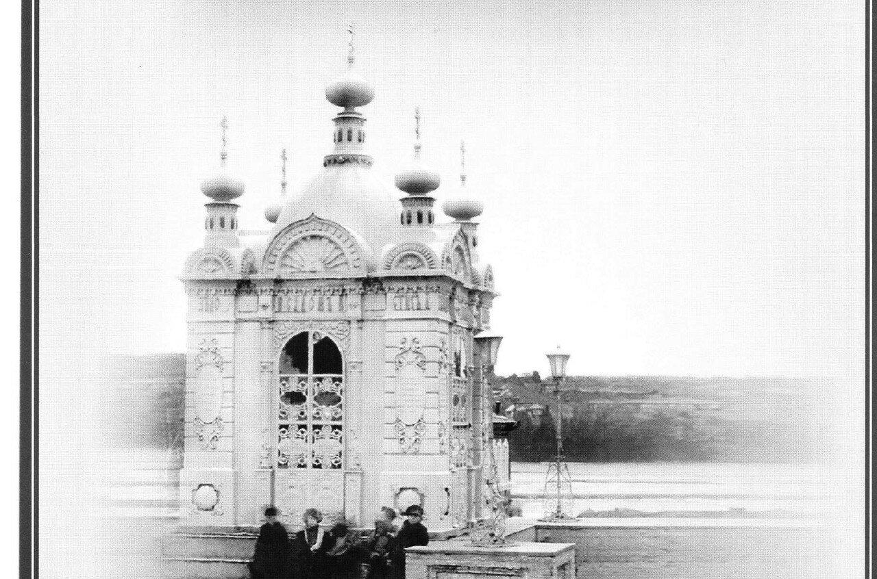 Часовня установлена на Базарной площади в 1892