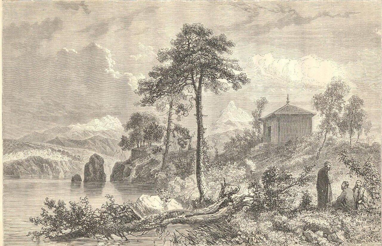 1860. Тунгусский храм на Амуре