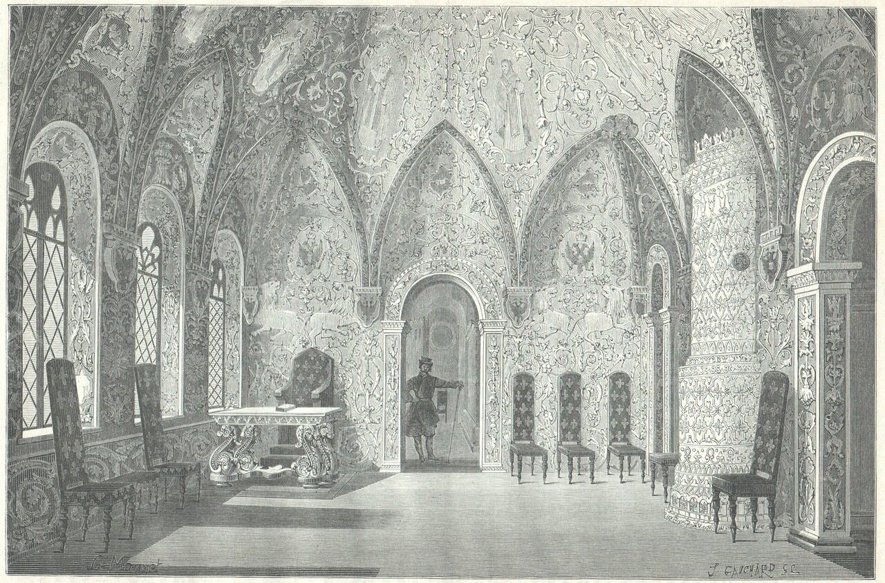 1872. Москва. Внутренний вид терема