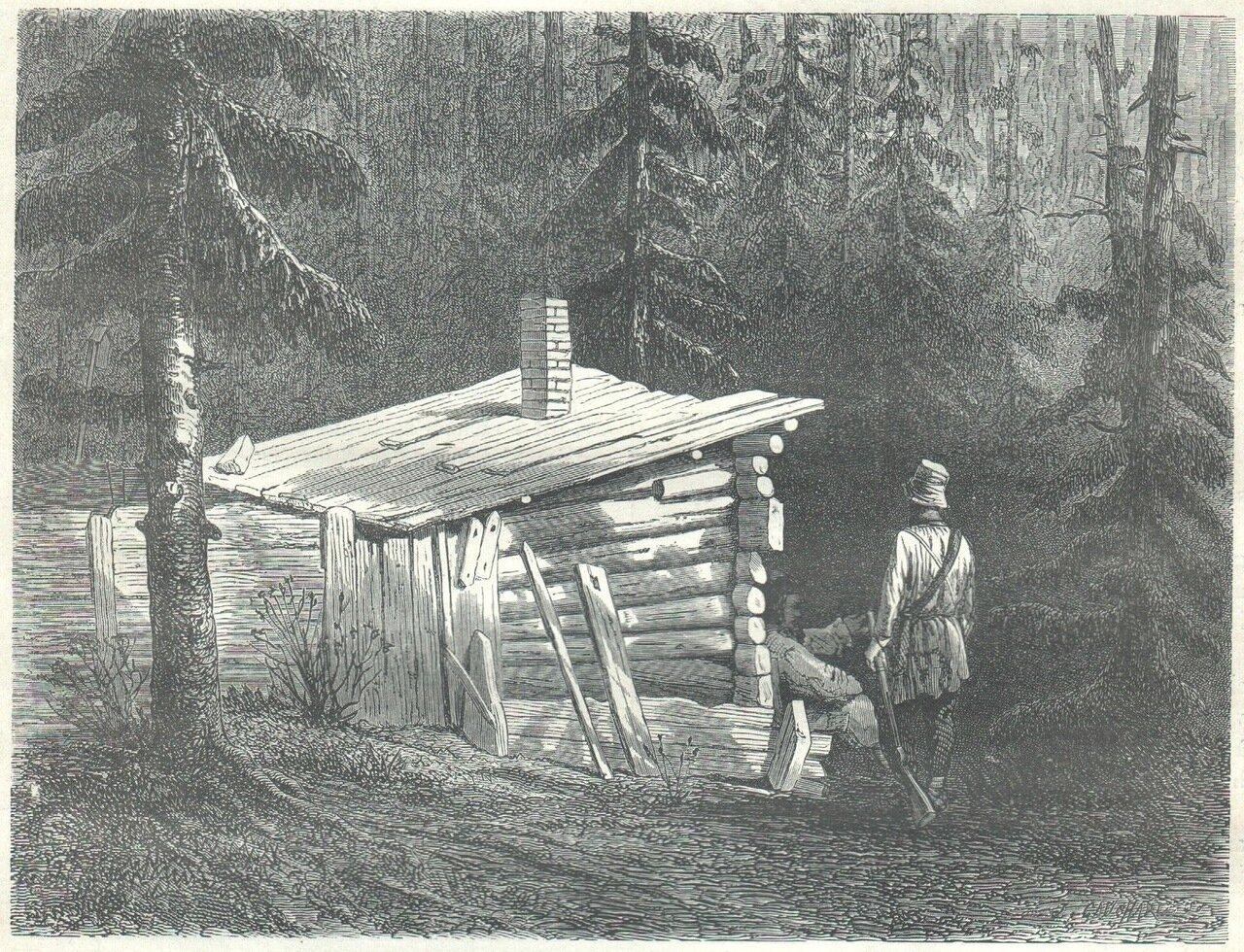 1872. Хижина в горах