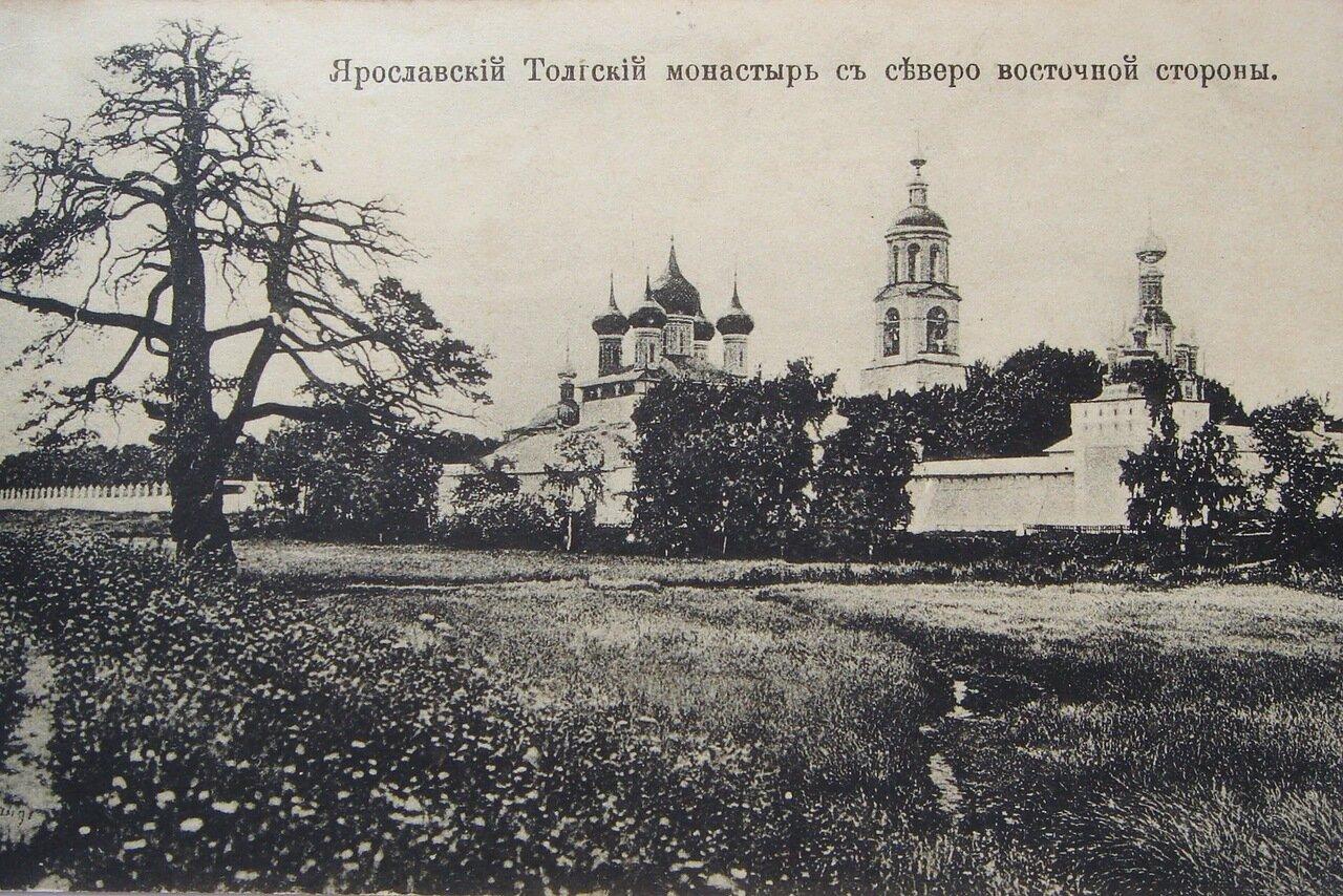 Толгский монастырь с северо-восточной стороны