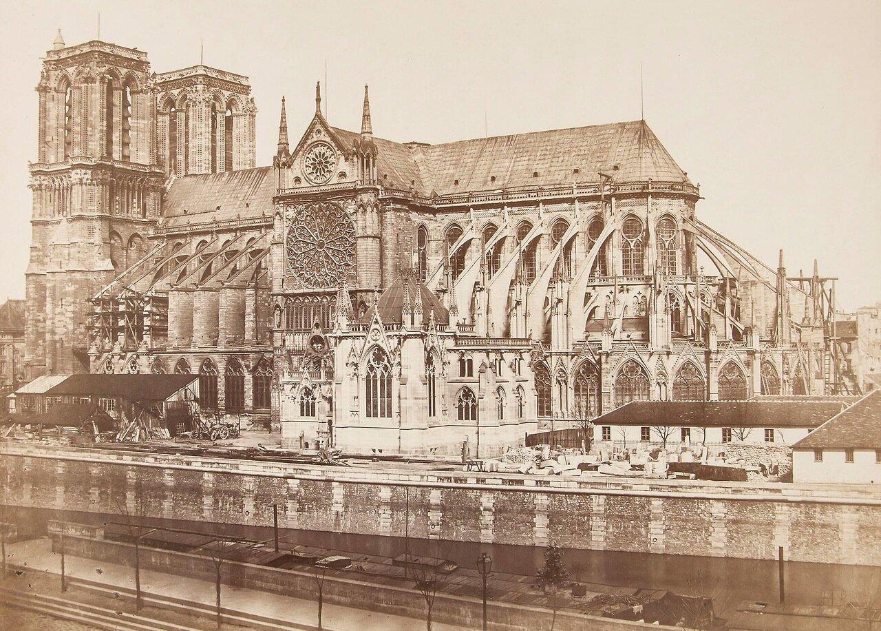 Париж. Собор Нотр-Дам де Пари, 1852-1853