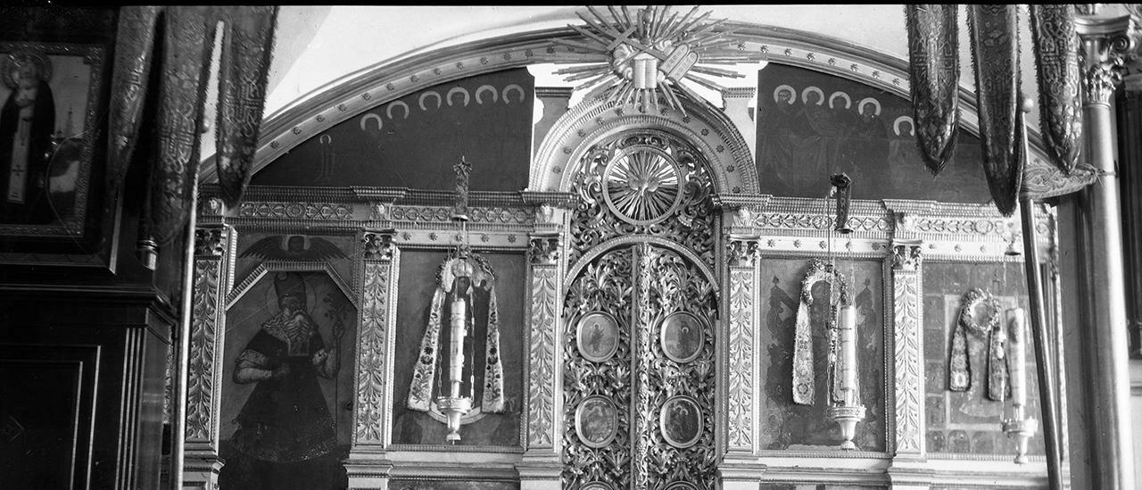 Сковородский монастырь. Храм Михаила Архангела. Южный придел. Иконостас
