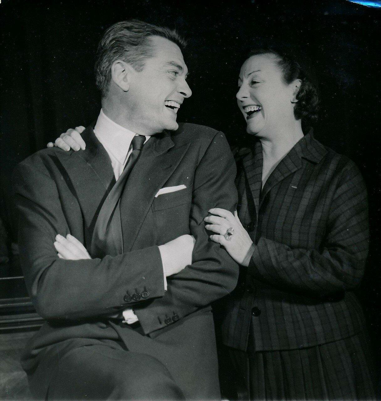 1955. Жан Маре и Габи Морле