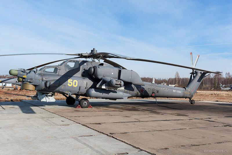 Миль Ми-28Н (RF-91104 / 50 жёлтый) D708097a