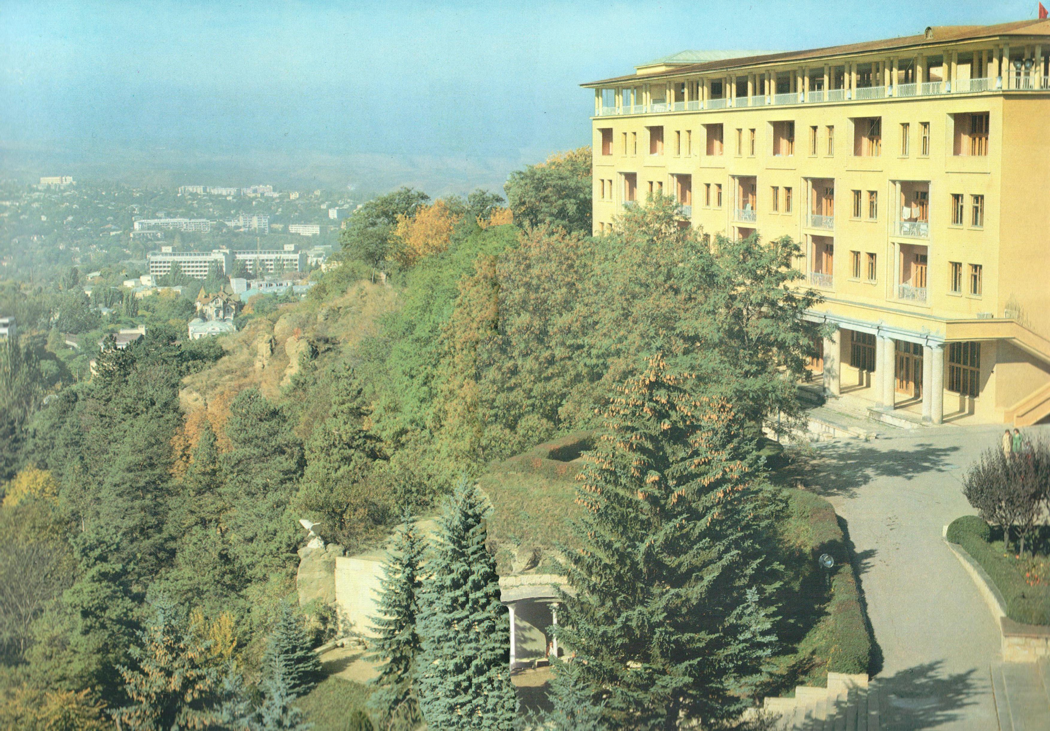 Фото санатория эльбрус в советские времена