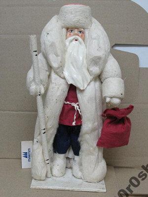 Дед мороз из ваты своим рукам и