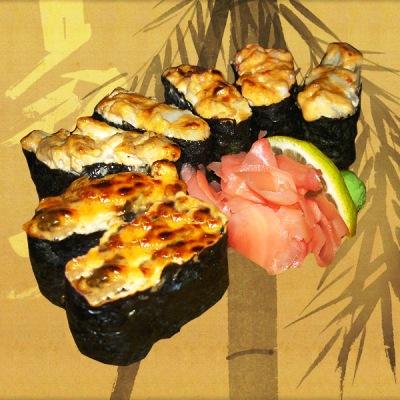 Рецепт суши с угрём