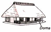 Традиционные и современные строения в Японии