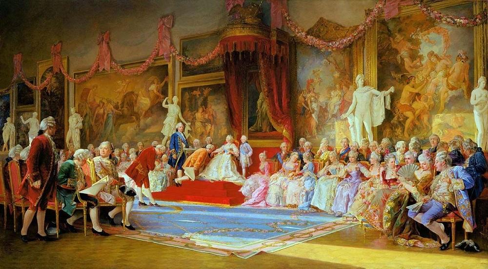 Инаугурация Императорской Академии художеств 7 июля 1765 года 1889  холст масло Научно-исследовательский музей Российской Академии художеств, Санкт-Петербург .jpg