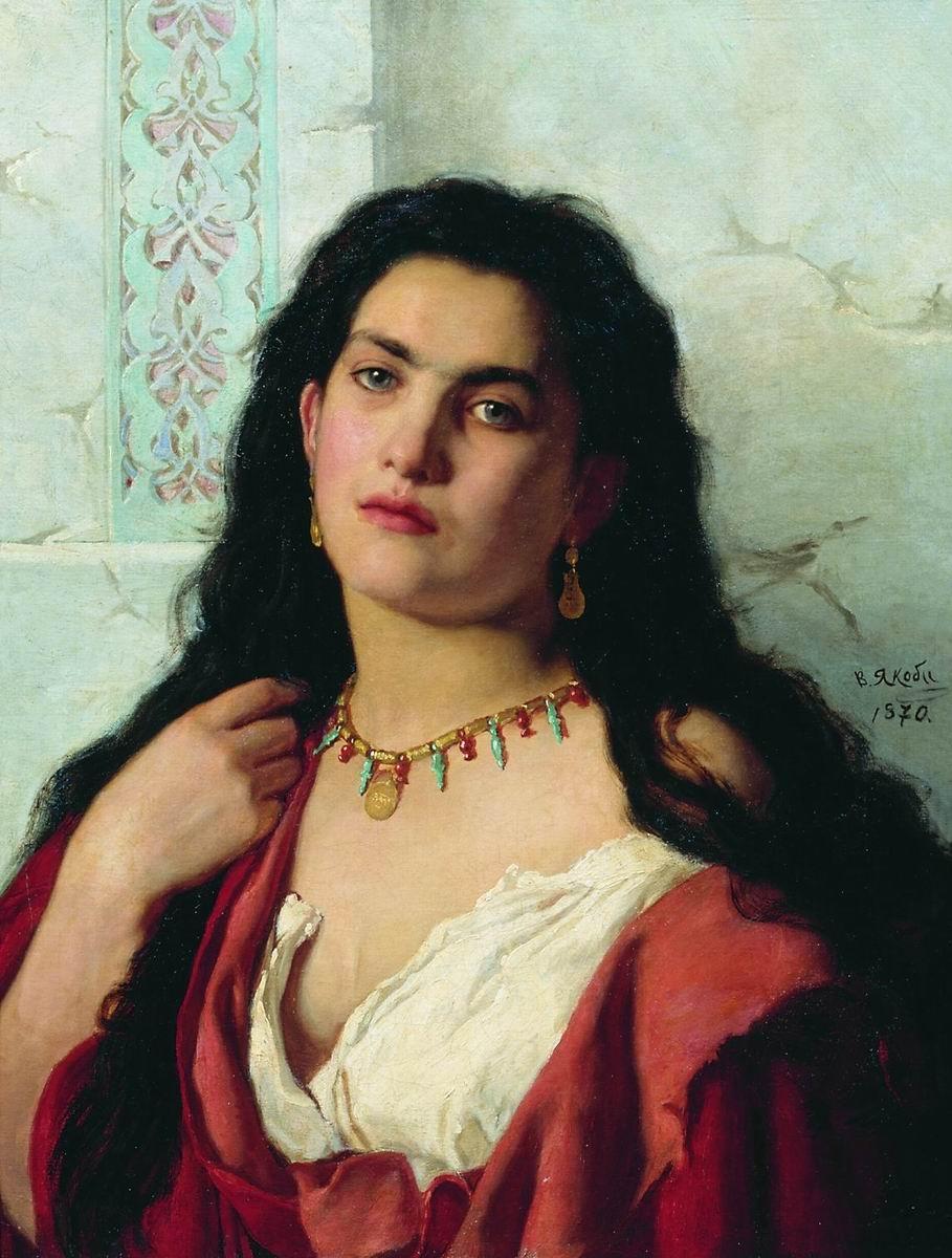 Женский портрет 1870 холст, масло 64 х 48.5 Волгоградский музей изобразительных искусств имени И.И. Машкова.jpg
