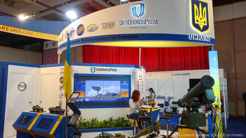 Несмотря на политический кризис, Украина приняла участие в выставке вооружений DSA 2014