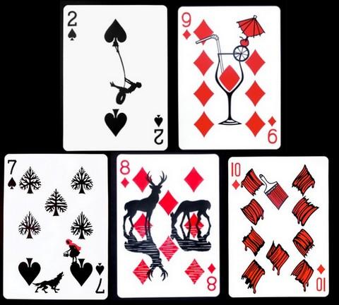 Сделать игральные карты своими руками фото
