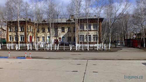 Фото города Инта №6682  Западная сторона Лунина 8 (детский сад