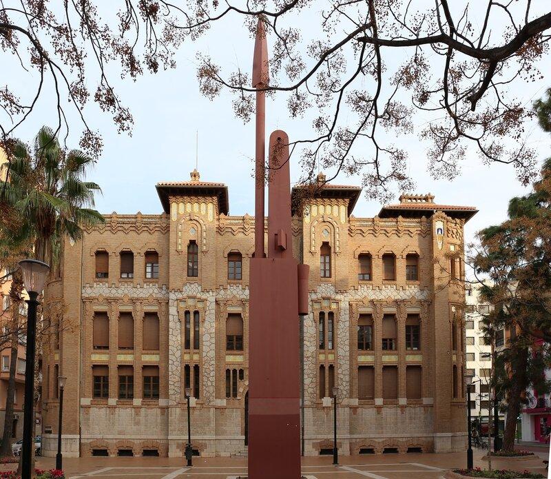 Castellón de la Plana, Plaza Tetuan. Castellon de La Plana, Tetuan Square