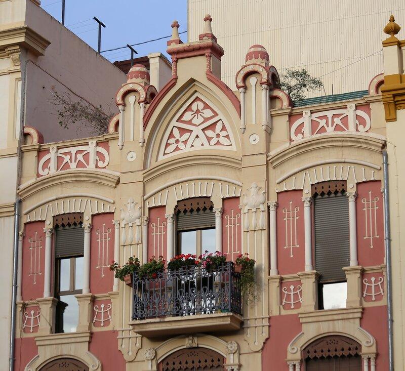 Casa Alcon. Castellon de la Plana, Plaza de la Independencia, Castellon de La Plana, Independence Square