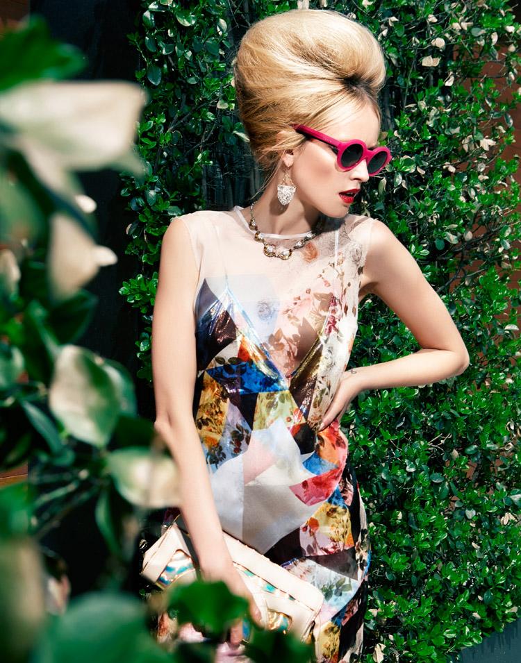 Simone W для июньского Elle Bulgaria 2014