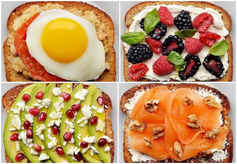 21 вариант приготовления необычных тостов на завтрак (22 фото)