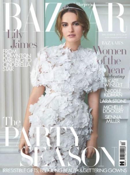 Книга Журнал: Harpers Bazaar №12 (декабрь 2015)