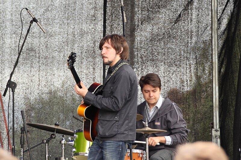 Гитарист из El Tango на фестивале «Джаз над Вяткой»