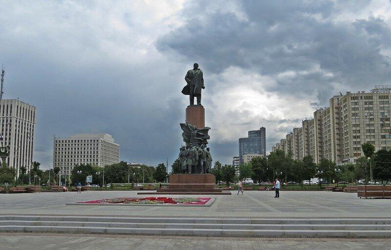 Калужская площадь. Москва.