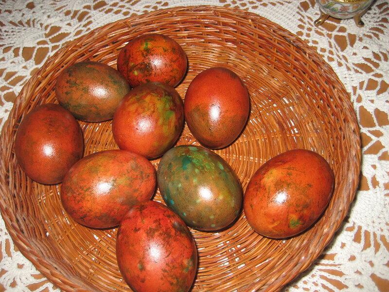 Готовимся к Пасхе! Новый рецепт покраски яиц