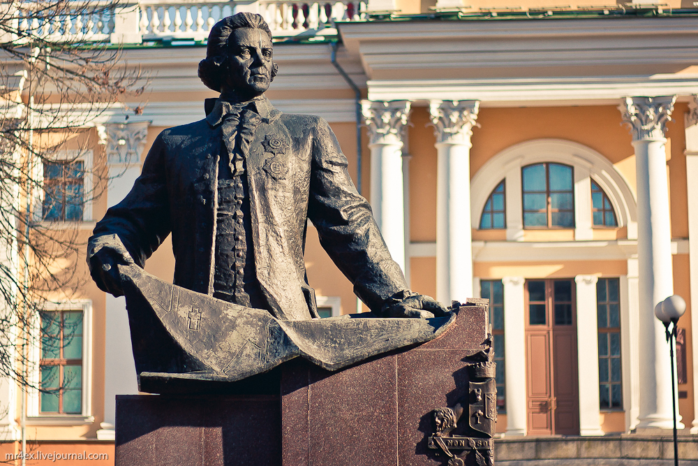 Гомель, Гомельский парк, Памятник Н. Румянцеву
