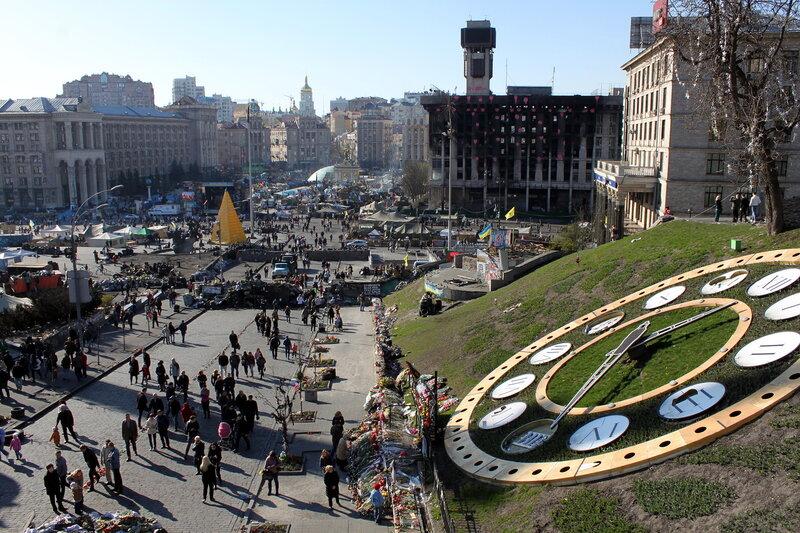Евромайдан в апреле