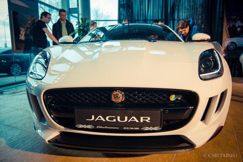 На вершине роскоши с Jaguar