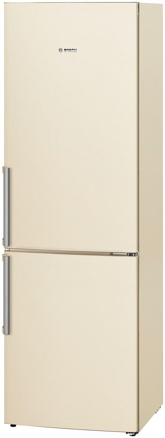 холодильник Bosch бежевый с ручками