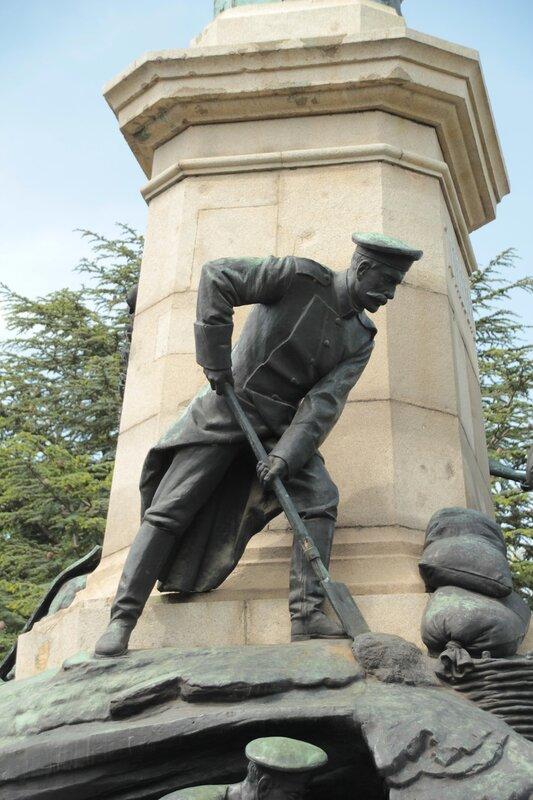 Исторический бульвар в День Победы