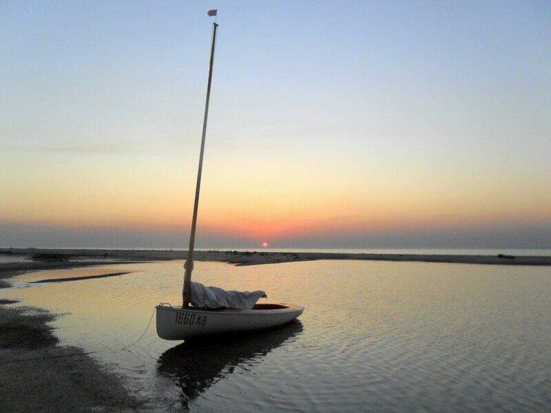 Вечером, на летнем берегу