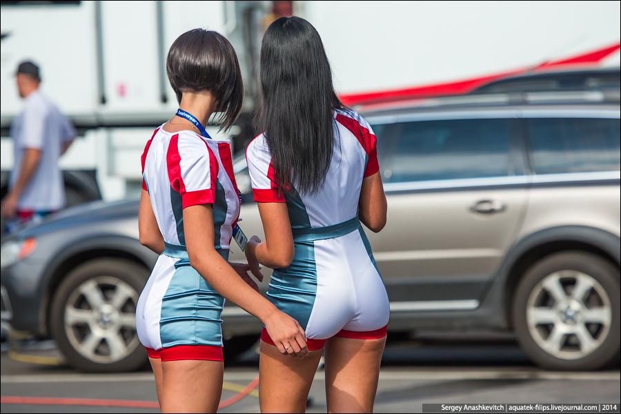 Девушки на Moscow Raceway