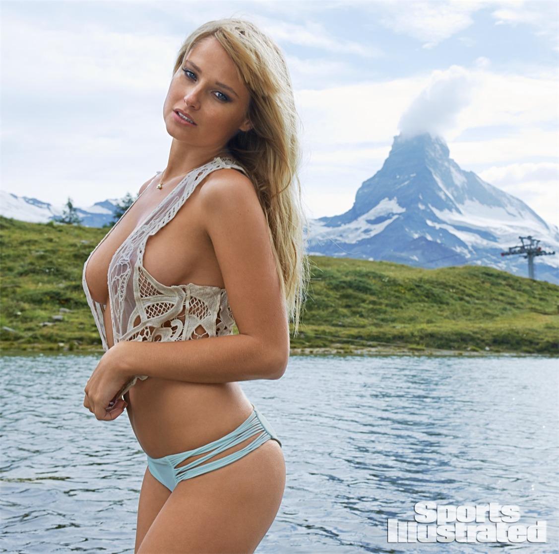 Женевьева Мортон в купальниках Sports Illustrated Swimsuit 2014 - Genevieve Morton by Yu Tsai in Switzerland