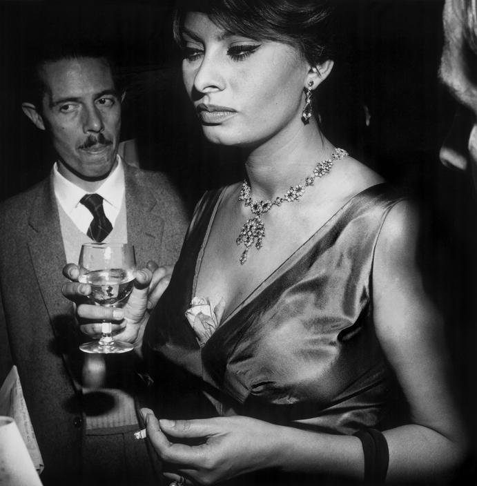 UNITED KINGDOM. London. Italian actress Sophia LOREN. 1962