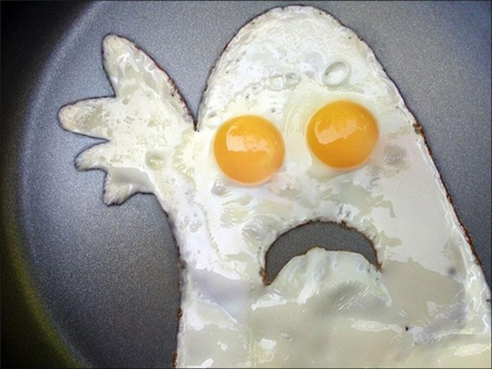 Как приготовить яичницу