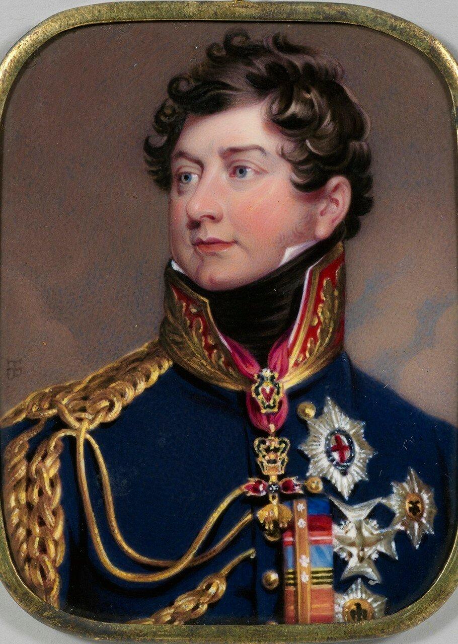 Георг IV (1762-1830), когда Принц Уэльский  подписана и датирована 1 800