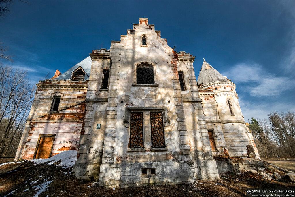 Муромцево. Замок Храповицкого