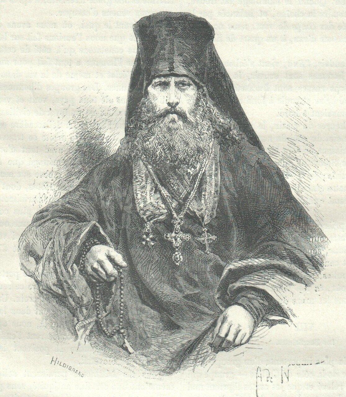1872. Феофан, архимандрит Соловецкого монастыря