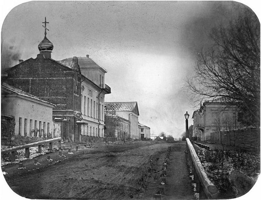 Здание пансионата Рязанской губернской гимназии. 1860-е