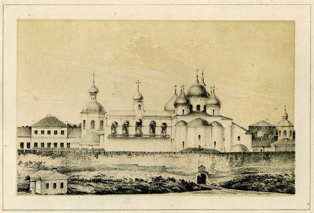 Вид на Кремль. 1864