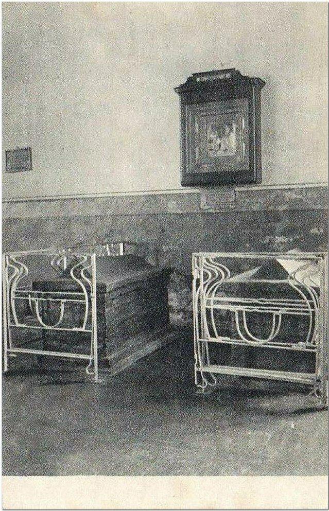 Гробницы казненных князей.