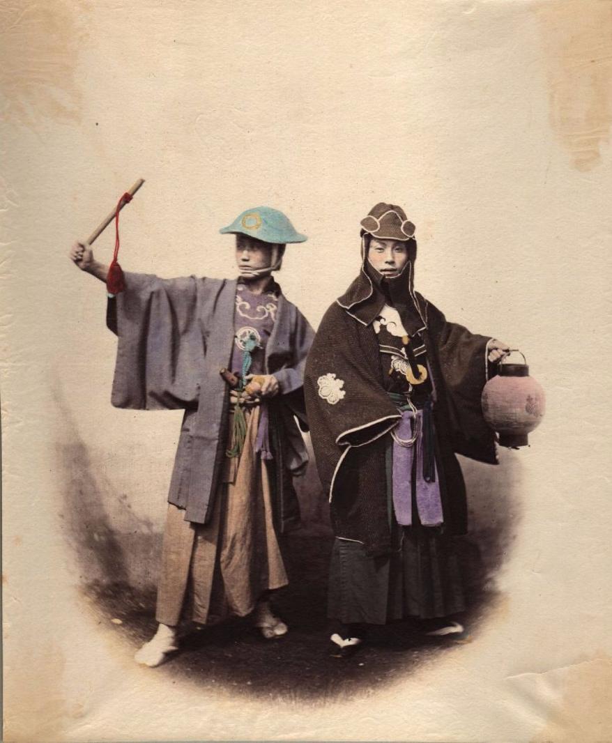 Два самурая. ок 1868