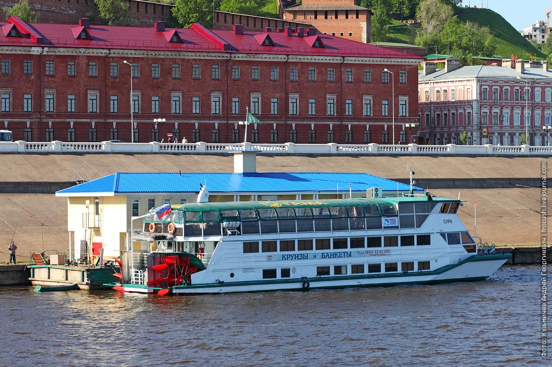 Пассажирское колесное судно для малых рек ПКС-40 Сура