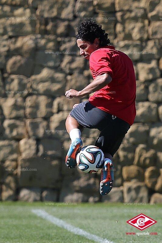 Тренировка «Спартака» в испанской Марбелье (Фото)