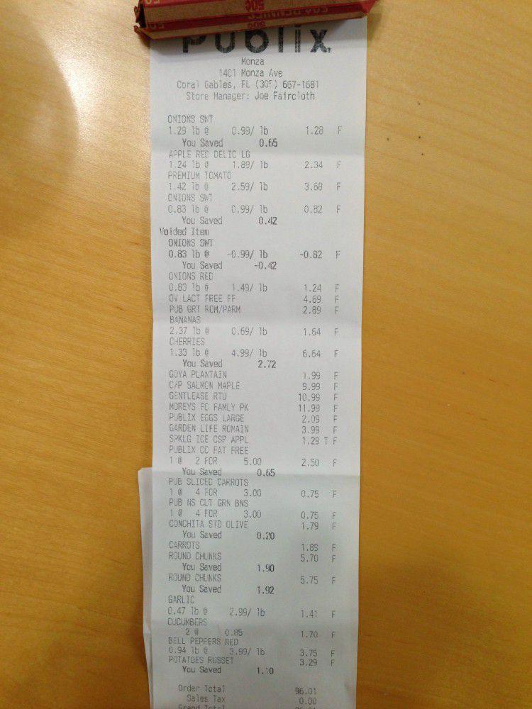 Стоимость продуктовой корзинки в США (3 фото)