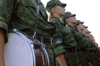 Уральская школьница была поставлена на воинский учет