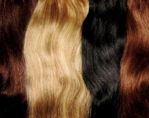 Стильное закрепление волос заколками